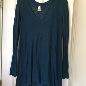 Long free people top